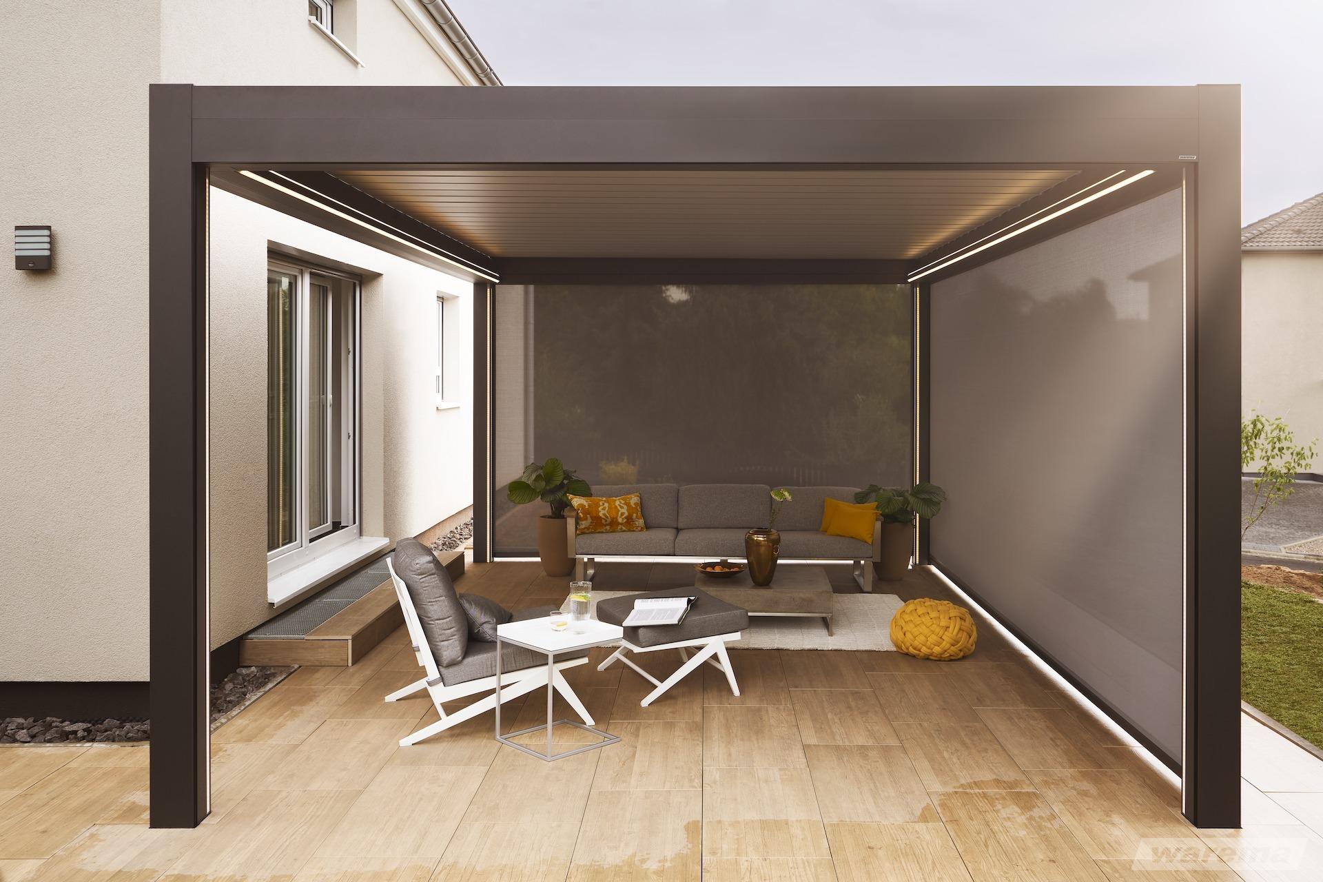 terrassenüberdachung mit montage