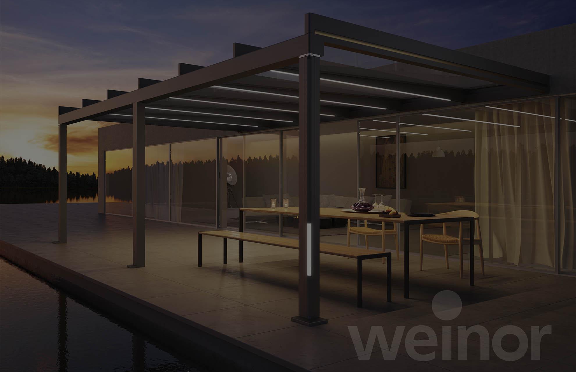 Terrassenueberdachung-terrazza-pure von Weinor