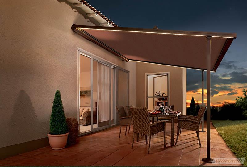 terrasse vor regen schützen