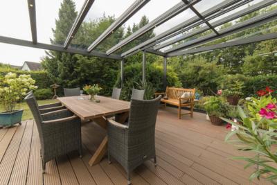 glasüberdachung terrasse