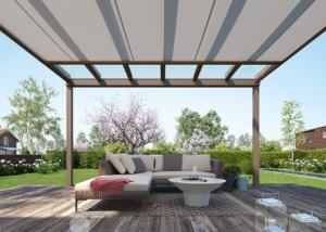 terrassenüberdachung mit Markise