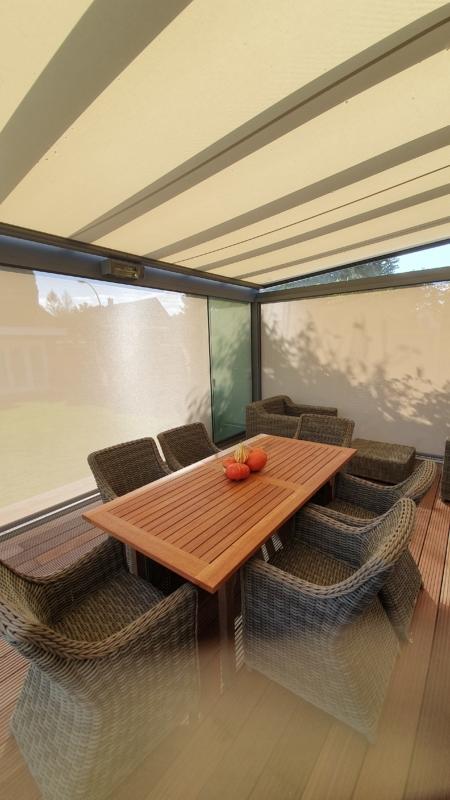 terrassendach mit sonnenschutz